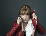 SURVIVOR Marianne Faithfull fits right in at the Kate Wolf Fest.
