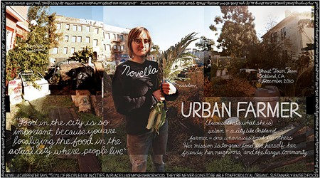 SUSTAINABILITY, DEFINED In Douglas Gayeton's 'Local,' urban farmers like Novella Carpenter, from Oakland, point to the pleasure in growing one's own food.