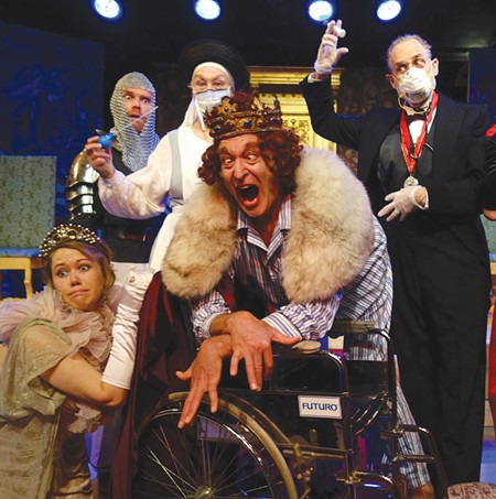 THAT'S ABSURD Ionesco's 'Exit the King' opens this week at Main Stage West.