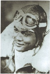 THE 99TH James Goodwin in his air force days with the Tuskegee Airmen.