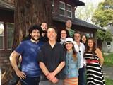 THE BOHO CREW,(l-r): Nicolas Grizzle, Charlie Swanson, Stett Holbrook, Rosemary Olson, Lisa Santos, Gary Brandt, Tom Gogola, Jackie Mujica, Lynda Rael