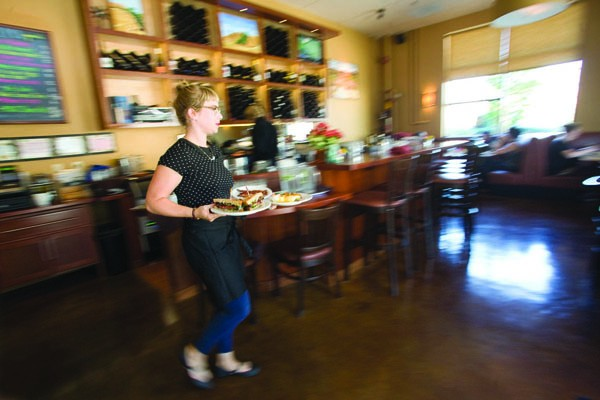 THE LOCAL Luma's welcoming neighborhood-restaurant appeal hits its firmest stride at brunch. - MICHAEL AMSLER