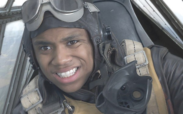 THE 'PITS Tristan Wilds as Ray 'Ray Gun' Gannon in George Lucas' latest.