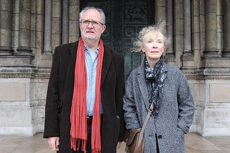 THERE'S A PLACE IN FRANCE Jim Broadbent and Lindsay Duncan jet to the City of Lights to rekindle love's flame in 'Le Week-End.'