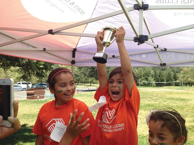 THEY ARE NO. 1  One of the Boys & Girls Club of Central Sonoma County's sites was named the best in the country.