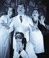 THEY'RE ALIVE The cast, in a movie-stage adaptation that clicks. - ERIC CHAZANKIN