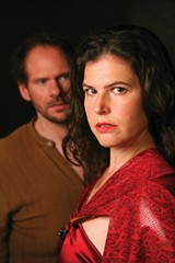 TORE-ADORE Mark Kratz as Don José and Rebecca Krouner as Carmen. - ERIC CHAZANKIN