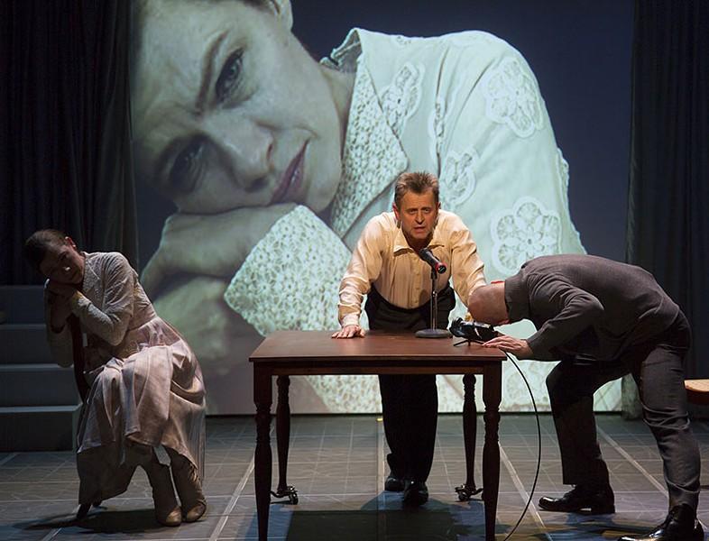 TURKEY HUNTER Mikhail Baryshnikov in 'Man in a Case.'