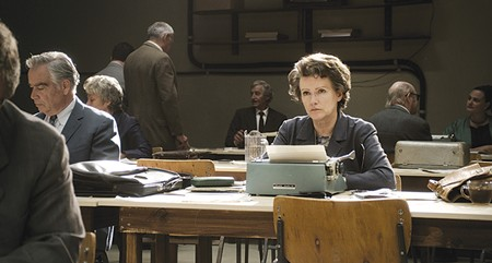 TYPE CAST Barbara Sukowa as Hannah Arendt, who coined the term 'the banality of evil.'