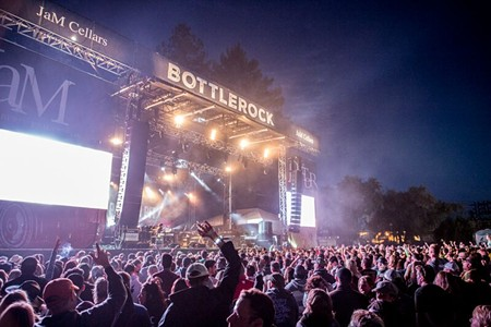 PACKED HOUSE The crowds at this year's BottleRock were the biggest to date. - JAMIE SOJA