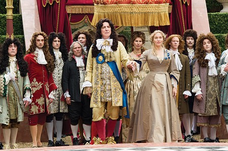 HAIR APPARENT Alan Rickman stars and directs in his role as Louis XIV.