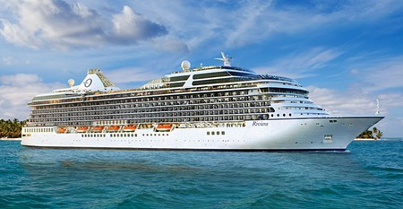 OUR SHIP, THE MS RIVIERA.