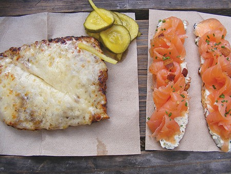 CHEESE TO PLEASE Cheese toasties and smoked salmon with fromage blanc are two breakfast standouts at Cowgirl. - FLORA TSAPOVSKY