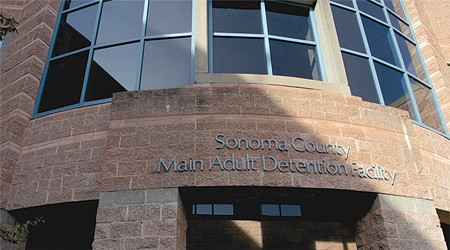INCARCERATION SITUATION Sonoma County is applying for $40 million from the state to add on to the main jail.