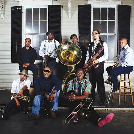 MOVE YOUR BODY Rebirth Brass Band march into their fourth decade.