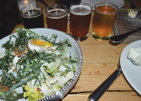 BEER ME Food and beer are well matched at this Mill Valley haute beer house. - TOM GOGOLA
