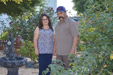 HOME INVASION Elva and Raul Barajas say a Rohnert Park police officer entered their home with his gun drawn but without a warrant or just cause. Police defend the actions as routine.