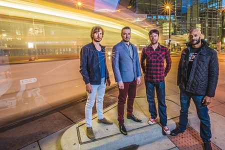 The New Mastersounds play Sweetwater Music Hall Oct. 4.