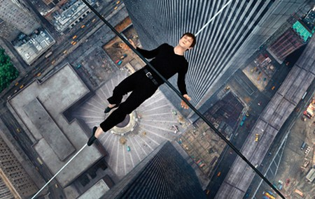 DON'T LOOK DOWN The strength of 'The Walk' is the acrophobia-inducing special effects.