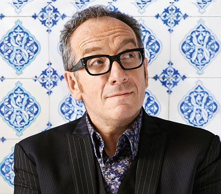 IT'S NOT EVERYDAY HE WRITES A BOOK  Find out just how many television sets Elvis Costello dropped into hotel pools when he shares stories from his rock 'n' roll memoir on Oct. 23 in Yountville.