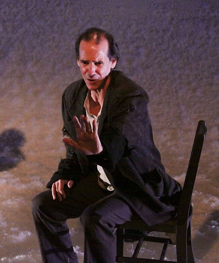 NO MORE PITCHFORKS Robert Parsons brings a wounded dignity to his role as the Creature.