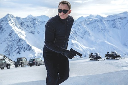 THE SPY WHO EVERYONE LOVES   In the latest Bond movie, Daniel Craig picks up where he left off in 'Skyfall.'