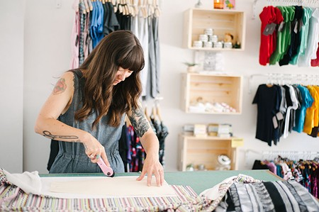 DESIGNER ON A MISSION 'I don't want Littlefour to be just another boutique,' says Danielle Rodrigues. - ALLISON ANDRES PHOTOGRAPHY