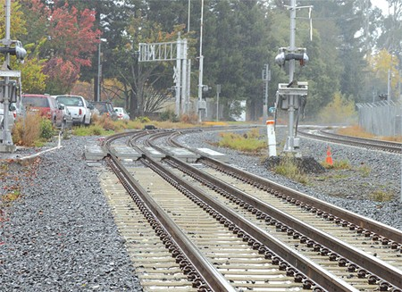 ON TRACK? Plans for nine stations are rolling ahead, but additional funds will be needed for future enhancements.