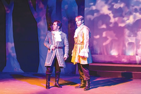 INTO THE WOODS The anticipation is building around Stephen Sondheim's dark musical fairy tale at Spreckels. - JONATHAN BRETAN