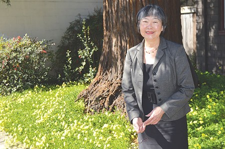 WATCH HER RUN 'We must continue to work for social, economic, educational and environmental justice,' says Mariko Yamada.