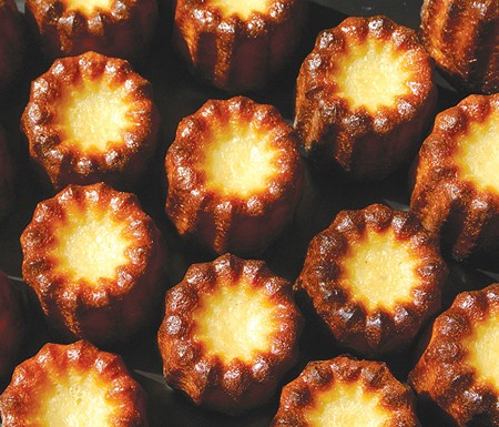 SUGAR, BUTTER AND FLOUR You won't find bear claws at Pascaline, but you'll find classic French pastries like these beautiful cannelés de Bordeaux.