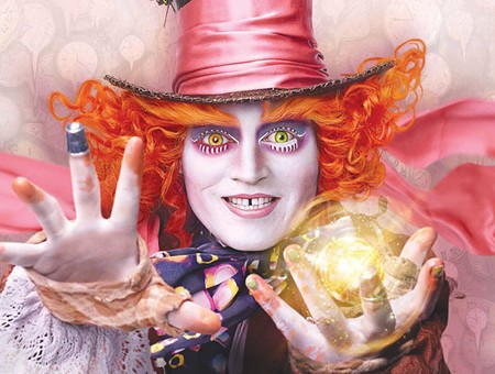 YOU ARE GETTING SLEEPY...  And will probably nod off if you see 'Alice Through the Looking Glass.'