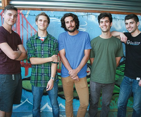 THE RIDGWAY WAY way While their heads are in school books, the band's heart is in making music.