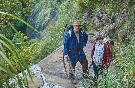 INTO THE WILD  A cranky man and a precocious kid hide from the world in 'Hunt for the Wilderpeople.'