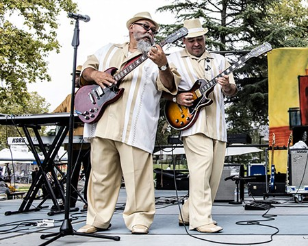 DYNAMIC DUO Twice as Good win the NorBay for Blues/R&B. - ROBERT HAKINS