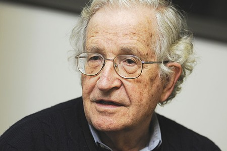 DOOMSDAY  'This would be a horrible humanitarian tragedy,' says Noam Chomsky of Trump's deportation plans.