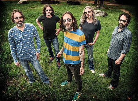 HAPPY NEW YEAR, BRO The North Bay–based Chris Robinson Brotherhood rings in the year twice at Terrapin Crossroads Dec. 30 and 31.