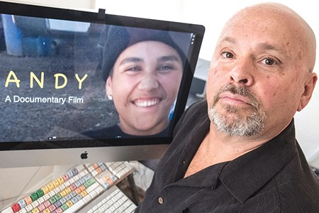 SCREEN TIME  Ron Rogers' documentary about Andy Lopez is slated for release in the fall. - RORY MCNAMARA