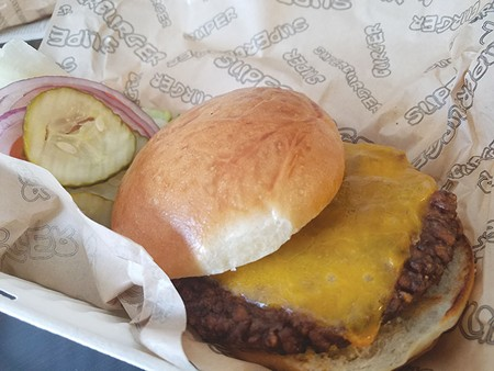 FAUX FLESH  Superburger says it waited a decade before finding a vegan burger to add to its roster.
