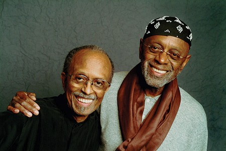 JAZZ ROYALTY  Jimmy (left) and Tootie Heath are true jazz ambassadors who have rubbed elbows with many of the world's greats, like Miles Davis, Ray Charles and Dizzy Gillespie.