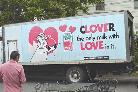 GOT PUNS?  Maybe Clover Sonoma's rebranding campaign and the short-term disappearance of Clo - was just to make us miss the cringe-worthy puns that accompanied Clo ads.