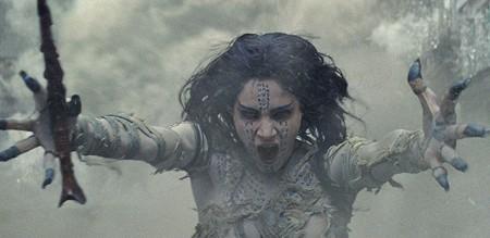 TOMB RAIDER  As far as mummies go, Princess Ahmanet is better-looking - than most.