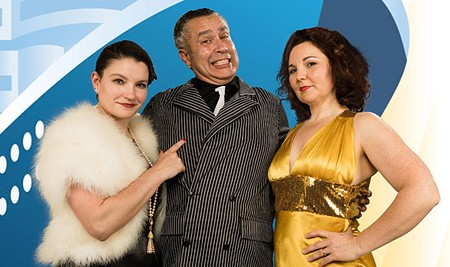 SHOWBOAT 'Titanic' was just 'Anything Goes' minus the songs, the dames and the fun.