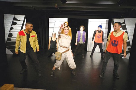 FARCICAL VOYAGE Create a musical parody of 'The Force Awakens,' Brittany Law did.