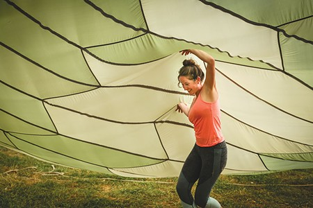AW CHUTE Organizers like Leah Fritts have made Parachute Days a must-attend festival.