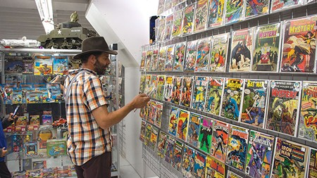 HOLY NERD NEST!  And by nerd nest we mean a fine place for discriminating comic-book fans to gather and appreciate the finer examples of the genre. - KEVIN STOLL