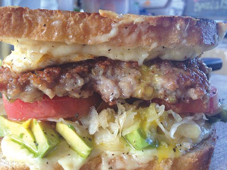 PILED HIGH  Sonoma County's Kendra Kolling has earned a following for her famed sandwiches.