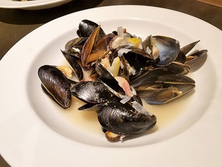 THAT'S SO SHELLFISH  Steaming mussels in cider instead of white wine puts a local twist on a classic preparation.