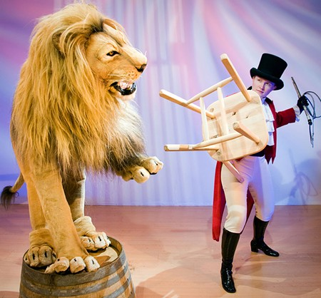 MASTER OF PUPPETS Lex Rudd will begin offering classes (not in lion taming) in Forestville next month.