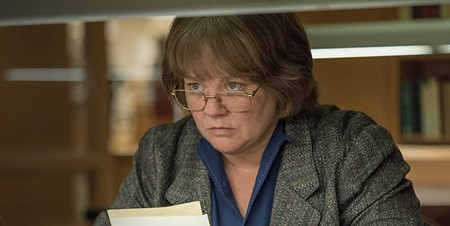 REAL-LIFE FAKE Melissa McCarthy stars as a struggling writer who becomes 